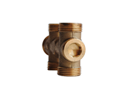 "TOTALINE, 4-WAY, 1/2"" VALVE (kvs 1.6)"